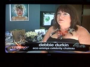 Debbie Durkin on Extra!