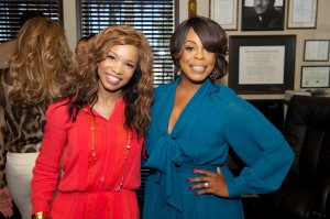 Actress Elise Neal and Soul Man's Nash